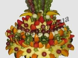 Фруктовый букет, Букет из фруктов и овощей, Съедобные букеты - фото 5