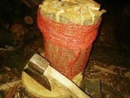 Фруктовые дрова в сетке