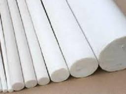Стержень фторопластовый от 20-200 мм, длина 500 и 1000 мм.