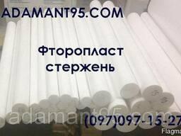 Фторопласт Ф-4, стержень, диаметр 15-200 мм, длина 1000мм