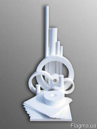 Фторопласт ( тефлон, PTFE ) лист 20,0 мм ( 200 мм х 200 мм )