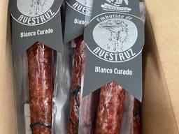 Фуэт(колбаса) из страусятины, кабана, оленя, кельтской свинины