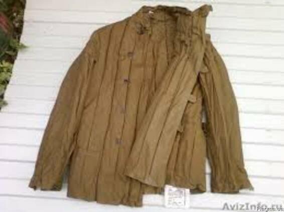 Фуфайка ватная, телогрейка, штаны ватные армейские (ватники