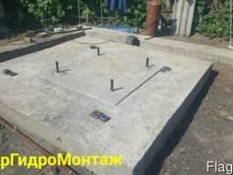 Фундамент под основание водонапорной башни Рожновского