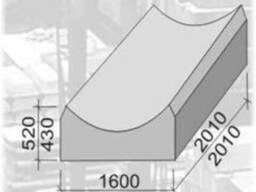 Фундамент под звено трубы ЗК 9.100. Ø1,5/16