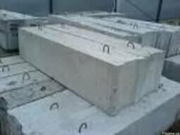 Фундаментный блок строительный 240х40х60