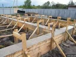 Фундаментные бетонные работы в Одес
