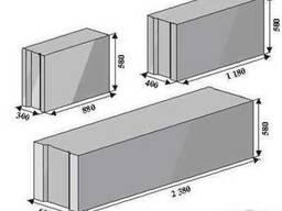Фундаментные блоки 24. 3. 6т, ФБС, доставка на объекты