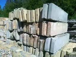 Фундаментные блоки жби б/у или лежалые