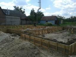 Фундаментные работы, бетонирование - фото 1