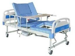 Функциональная кровать с туалетом для реабилитации. Е30 Уход