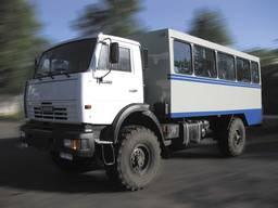 Фургон ФПВ-24224 (Вахтовка) на базе шасси КАМАЗ-4326