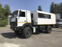 Фургон ФПВ-44415 (Вахтовка) на базе шасси МАЗ-5316F5