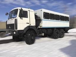 Фургон пассажирский ФПВ-46628 на базе шасси МАЗ-6317F5