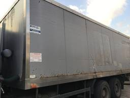 Фургон-рефрижератор, будка, вагончик вахтовка бытовка