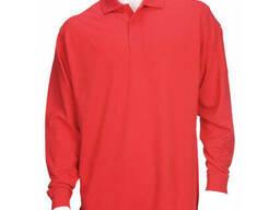 Поло тактическое с длинным рукавом 5. 11 Tactical Professional Polo красное