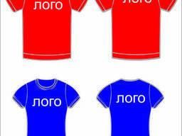 Футболка с логотипом, печать на футболках, нанесение полноцвет