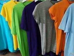 Футболка унисекс, разнsе цвета