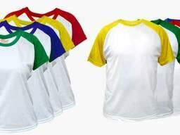 Футболки х/б, цветные цвет в наличии