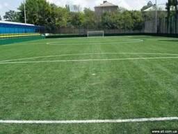 Футбольное поле, строительство