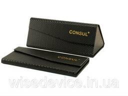 Футляр для очков складной магнитный Consul FBR черный (CN-F-Br-01)