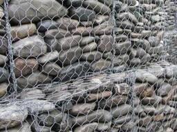Габионы матрац рено укрепление склона берега подпорная стена