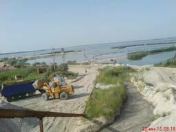 Галициновский речной, мытый песок (среднезернистый)