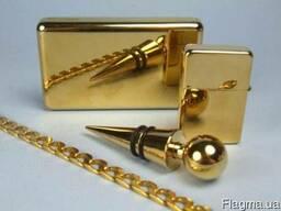 Гальванизация золотом