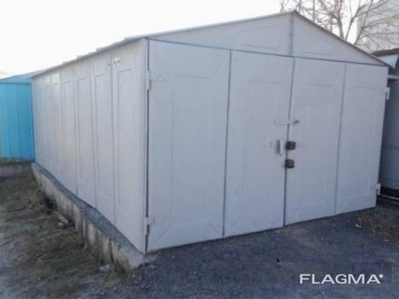 Продам металлический гараж в отличном состоянии. Помощь в доставке