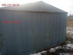 Купить металлический гараж днепропетровск как купить землю для гаража