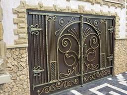 Гаражные ворота из металла 3-4мм