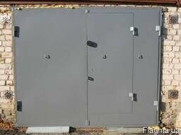 Гаражные ворота лист металла 2мм, 3мм, 4мм