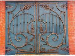 Гаражные ворота в Кривой Роге. Производитель