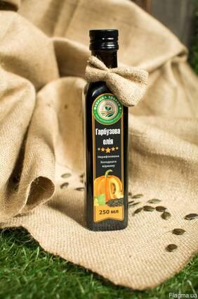 Гарбузова олія/Тыквенное масло штырийской голосеменной тыквы