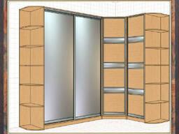 Гардеробные шкафы, шкафы-купе и встраиваемые шкафы