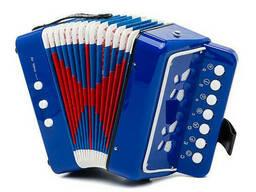Гармошка Shantou Huada Toys (Синий) (6429Blue)