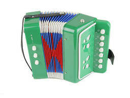 Гармошка Shantou Huada Toys Зелёная (6429Green)