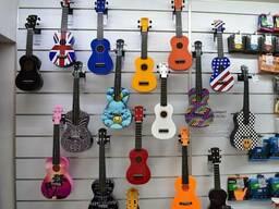 Гавайская гитара Укулеле Lag, Mahalo, Korala, Hora