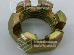 Гайка МТЗ-82 М18х1.5 корончатая оцинкованная 70-3003032. .. .