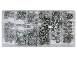 Гайки М3- М10 YATO в пластиковій коробці; наб. 300 шт.