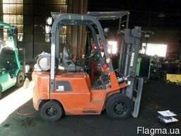 Газ - бензиновый автопогрузчик Nissan J01A15 на 1. 5 тонны