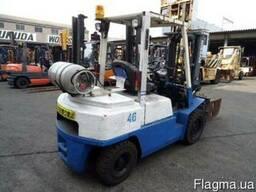 Газ - бензиновый автопогрузчик Nissan UGJ02M30 на 3 тонны