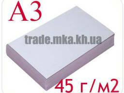 Газетная бумага А3 (пл. 45 г/м2)