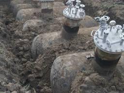 Газгольдеры, газовые ёмкости 5 м3