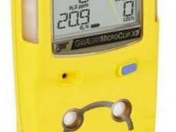 Газоанализатор (H2S, CO, O2, LEL) BW GasAlertMicroClip X3