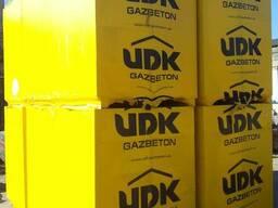 ЮДК (UDK) газоблоки. Доставка, выгрузка включена!