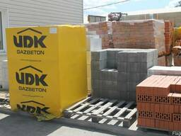 Газобетон UDK с доставкой по городу