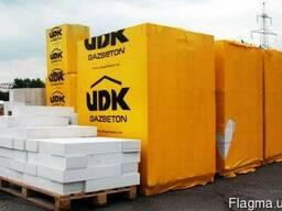 Газобетон UDK клей в подарок