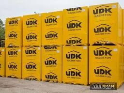 Газобетон ЮДК (UDK) Днепр с доставкой и выгрузкой