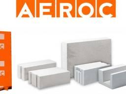 Газобетоные блоки Aeroc Udk СтоунЛайт Клей в подарок